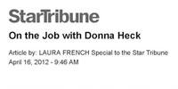 On the Job with Donna Heck