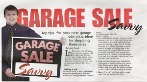 Stretch, Garage Sale Savvy