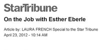 On the Job with Esther Eberle